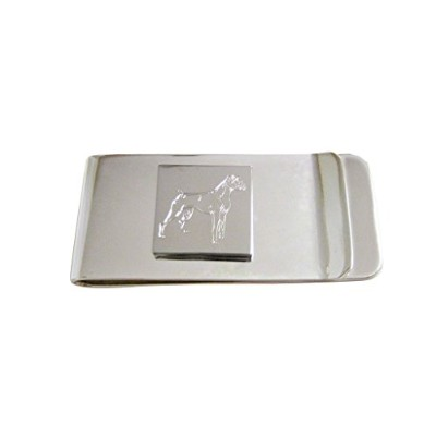ボクサー犬Etched Money Clip