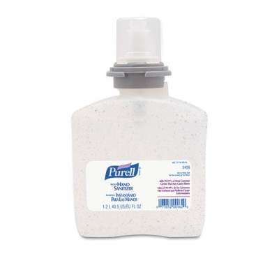 Go-Jo Industries 545604EA Advanced TFX Gel Instant Hand Sanitizer Refill, 1200mL