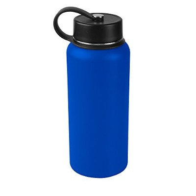 (950ml, Royal Blue) - Tahoe Trails Double Wall Vacuum Insulated Stainless Steel Water Bottle (royal...