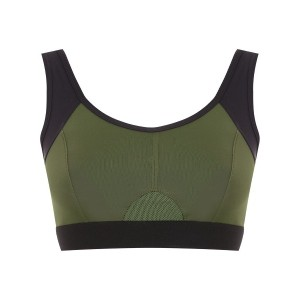 Track & Field Anatomic top with cut detail - グリーン