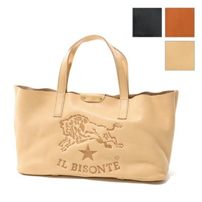 IL BISONTE イルビゾンテ A2666 P レザー トートバッグ 3色