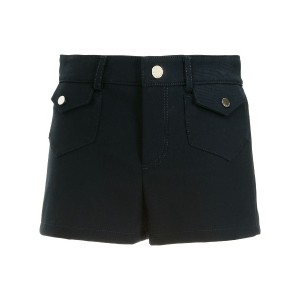 Red Valentino fitted pockets embellished shorts - ブルー