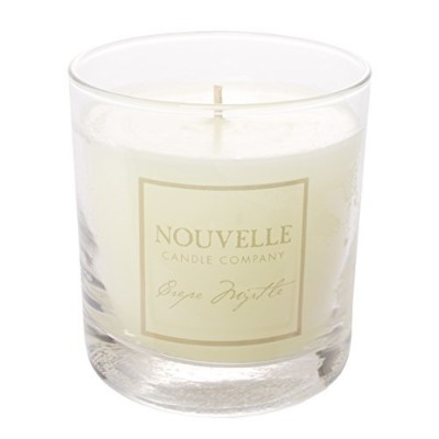 NouvelleクレープMyrtle 11オンスガラスCandle