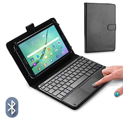Cooper Cases TOUCHPAD EXECUTIVE Bluetooth キーボード ケース 【 8-8.9 インチ 汎用 】 ワイヤレス タッチパッド マウス タブレット カバー...