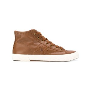 Ralph Lauren high top sneakers - ブラウン