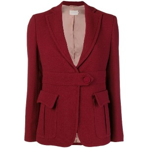 L'Autre Chose front button blazer - レッド