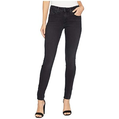 マーヴィ ジーンズ レディース ジーンズ Adriana Mid-Rise Skinny in Dark Smoke Supersoft