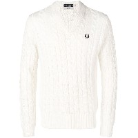 Fred Perry Fred Perry X Art Comes First jumper - ホワイト