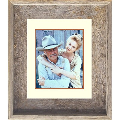 14 x 17 Real古い古板Framed Print Lonesome Dove Gus and Lori