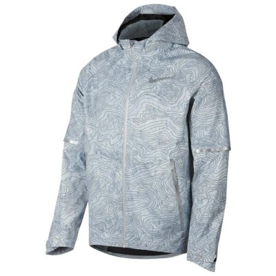 ナイキ Nike メンズ ランニング・ウォーキング アウター【Aeroshield Hooded Energy Solstice Jacket】Cool Grey/Cool Grey