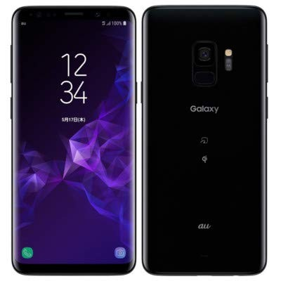 SAMSUNG 【SIMロック解除済】au Galaxy S9 SCV38 Midnight Black