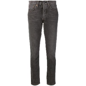 Levi's: Made & Crafted skinny jeans - グレー