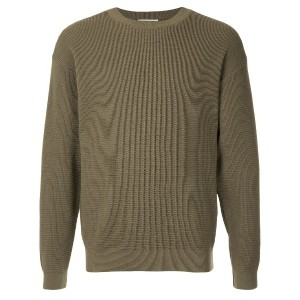 United Arrows textured sweater - グリーン