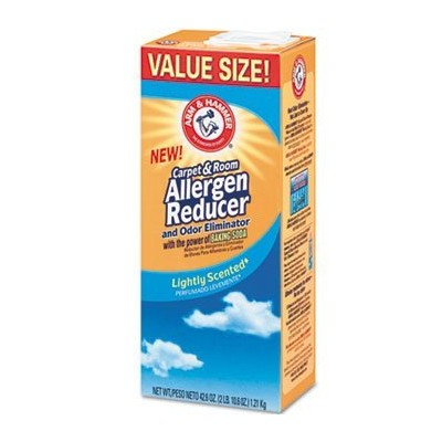 Arm & Hammer CDC 84113 42.6 oz Carpet And Room Allergen Reducer And Odor Eliminator, Shaker Box by...