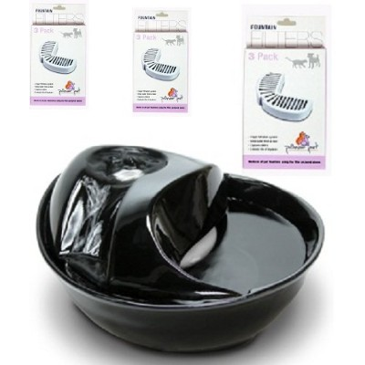 Smartcat Pioneer Pet Drinking Fountain Ceramic With 10 Filters by Pioneer Pet