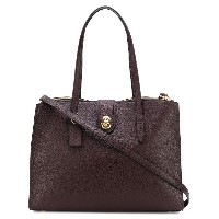 Coach turnlock Charlie tote - レッド