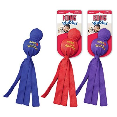 Kong WUBBA Dog Puppy Fetch Interactive Tug Squeaker Toy EXTRA-LARGE (WBX)