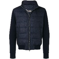 Herno zip-up padded jacket - ブルー