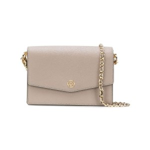 Tory Burch Robinson convertible mini shoulder bag - グレー