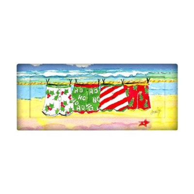 Coastal HolidayクリスマスBeach Swim Trunksトレイ