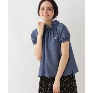 【Couture brooch(クチュールブローチ)】 【WEB限定販売】LEE パフスリーブTシャツ OUTLET > トップス > Tシャツ ライトブルー