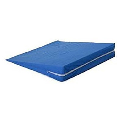 Bed Wedge With Cover, Bed Wedge Firm 24X24X4 Bl -Sp, (1 EACH, 1 EACH) by Hermell