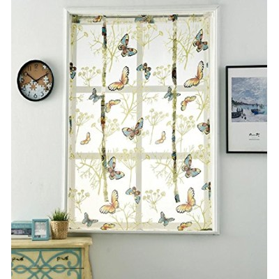 SPORTSXウィンドウDraperies Drapes Curtains Shade Eyelet Top Friendly素朴なLook For Kids ChildrenベッドRoom (...