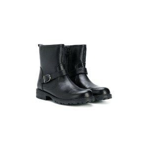 Geox Kids side buckle boots - ブラック