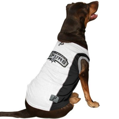 DoggieNation 023508510215 Extra Small San Antonio Spurs Dog Jersey