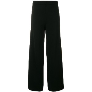 D.Exterior side strap trousers - ブラック