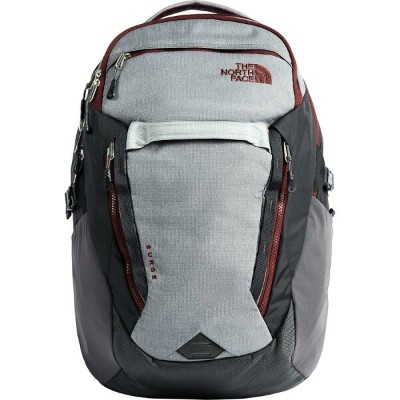 (取寄)ノースフェイス サージ 31L バックパック The North Face Men's Surge 31L Backpack Zinc Grey Light Heather/Sequoia...