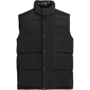Burberry Embroidered Archive Logo Down-filled Gilet - ブラック