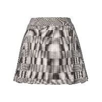 Hilfiger Collection checked mini skirt - グレー