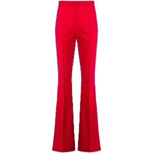 Semicouture flared trousers - レッド