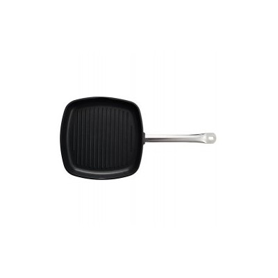 Samuel Groves 1817 360mm Professional Induction Cast Aluminium Non Stick Square Ribbed Grill...
