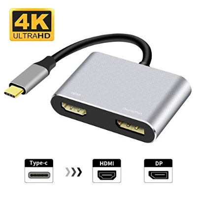 Type c to hdmi vga&to hdmi dp (Type C to HDMI/DisplayPort ハブ)