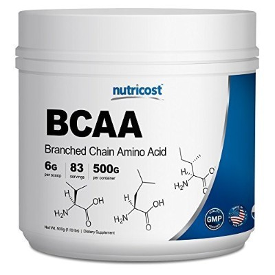 Nutricost BCAA Powder 2:1:1 - 500 Grams by Nutricost