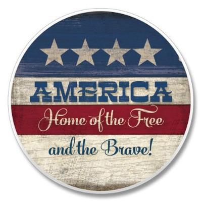Highland Graphics 03 – 01313 America Home of the Free and the Brave 。自動coaster-1 / EA