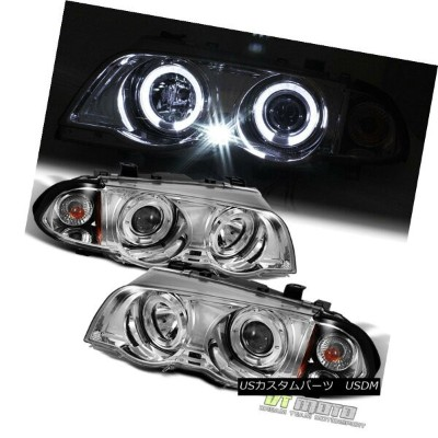 ヘッドライト 1999-2001 BMW E46 3-Series 323i 328i 330i Sedan LED Halo Projector Headlights 1999-2001 BMW...
