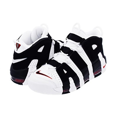 [ナイキ] NIKE AIR MORE UPTEMPO WHITE/BLACK/VARSITY RED 【メンズ】 [並行輸入品]