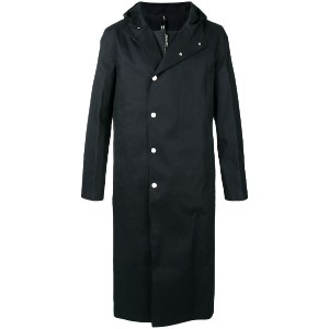 Alyx layered single breasted coat - ブラック