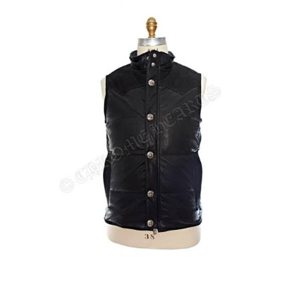 CHROME HEARTS POLY VEST LEATHER クロムハーツ POLY ベスト