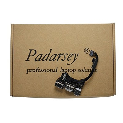 """Padarsey (923-0430) I/O Board w/USB, Audio DC-In 2 Compatible for MacBook Air 11"""" A1465 (Mid 2013,..."""