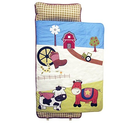 SoHo Nap Mat , Farmland Ranch (All Hand Embroidery) by Ellie and Luke