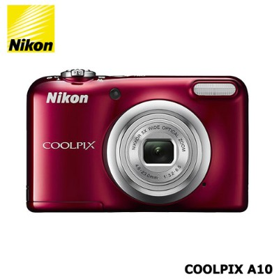 Nikon(ニコン)/COOLPIX A10RD[光学5倍ズーム 1614万画素 レッド]