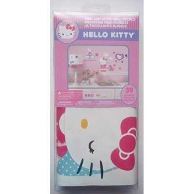 Hello Kitty Peel and Stick 39 Wall Decals by Hello Kitty