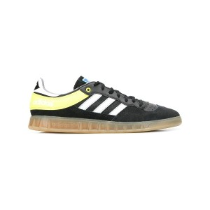 Adidas striped pattern sneakers - ブラック