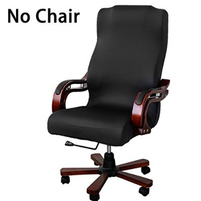 BTSKY New High Back Office Chair Covers Stretchy for Computer Chair/Desk Chair/Boss Chair/Rotating...
