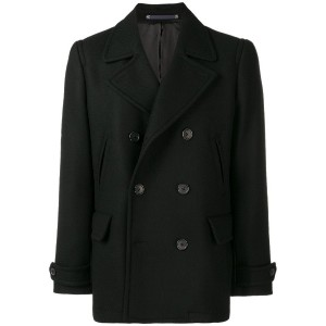 Ps By Paul Smith classic double-breasted coat - ブラック