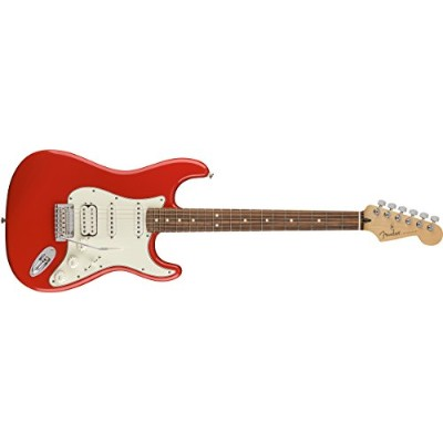 Fender エレキギター Player Stratocaster® HSS, Pau Ferro Fingerboard, Sonic Red